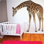 Giraffe wall sticker $249.95