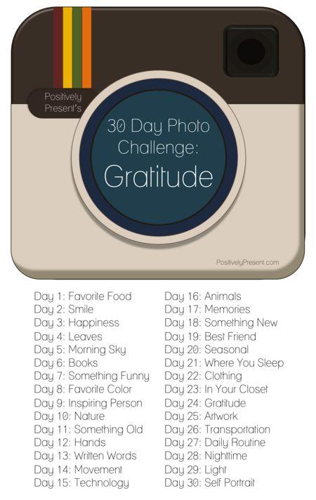 Instagram gratitude
