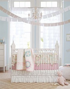 Pottery Barn - Girl Nursery (They just know how to make me spend my money!)