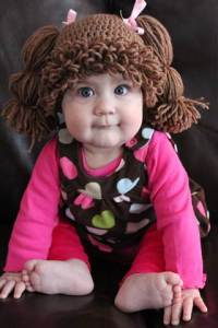 Cabbage patch dolls were never this cute when I was little...