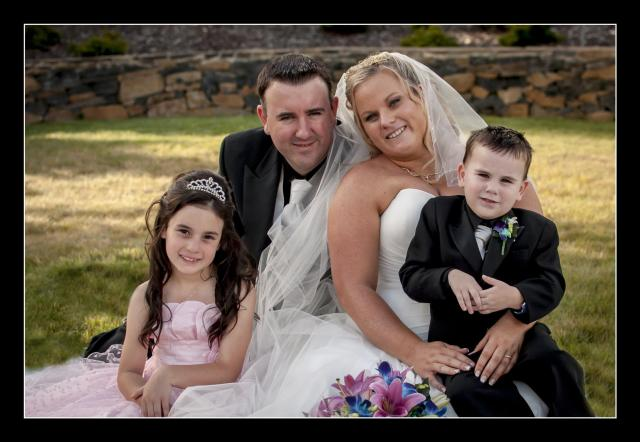 Michelle, Shawn and their children Kaelie & Noah