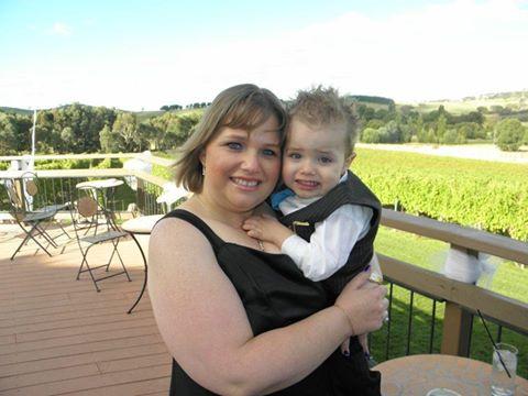 Melinda and her beautiful son Darius