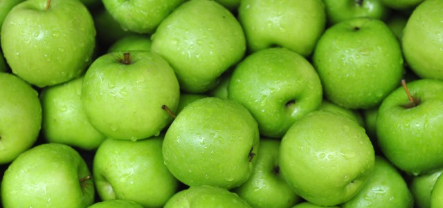 What about an apple a day keeping the doctor away? Away from pesticides maybe!