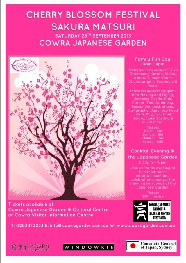 cowra gardens fun day