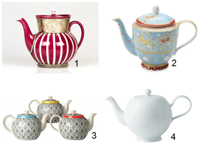 teapot collage