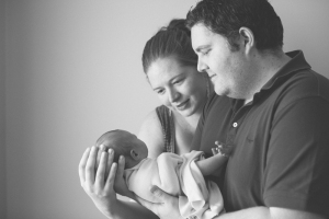 Michelle, Daniel and baby Emily