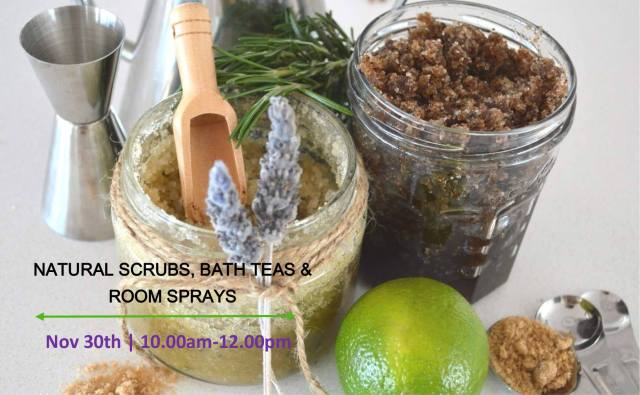 natural scrubs workshop