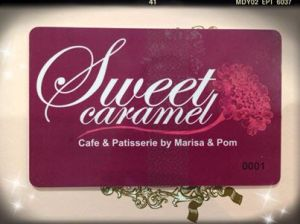 sweet caramel loyalty card