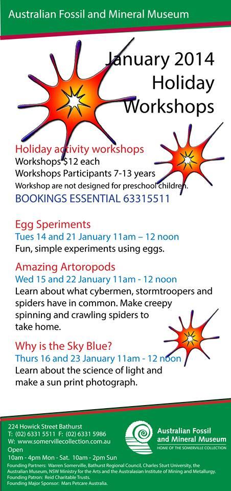 january workshops