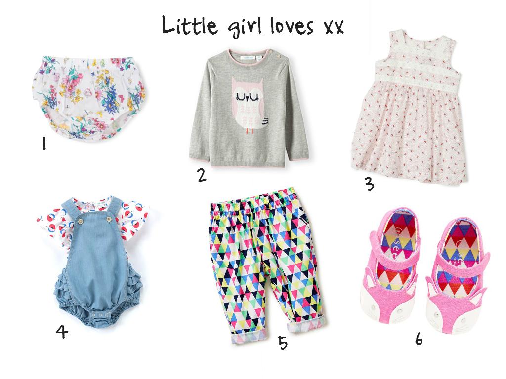 little girl loves