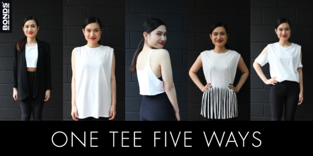 One tee five ways