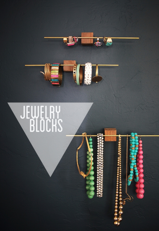 jewellery blocks