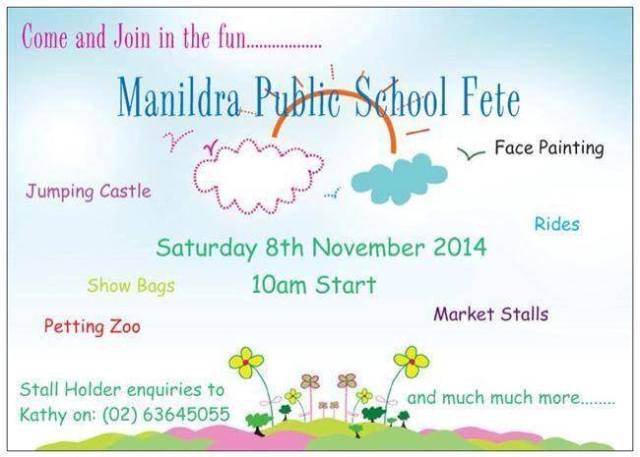 Manildra school fete