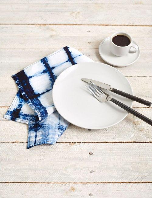 shibori napkins